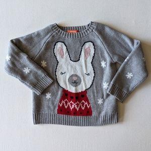 Joe Fresh Winter Bunny Sweater * 4 Toddler